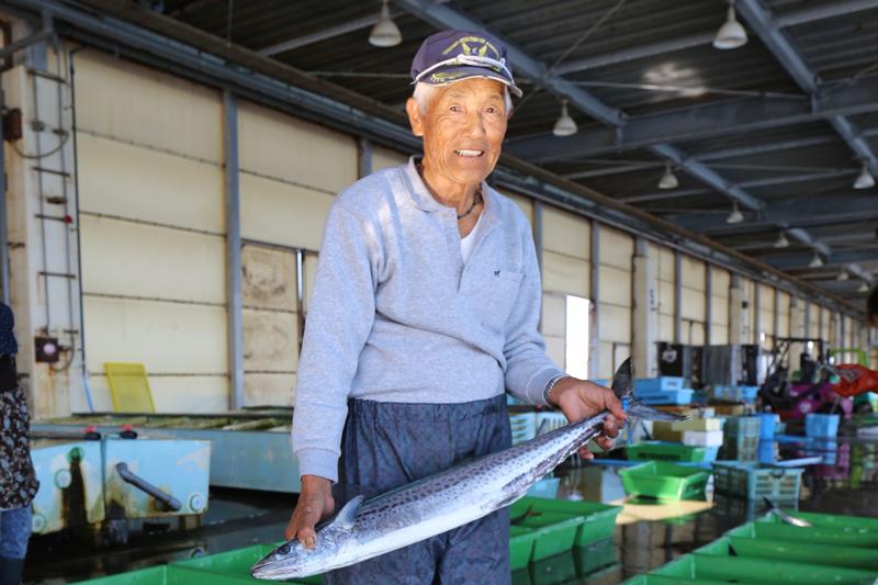波乗り鰆漁師出荷1